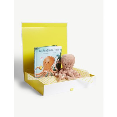 Little Odell Octopus soft toy and book hamper