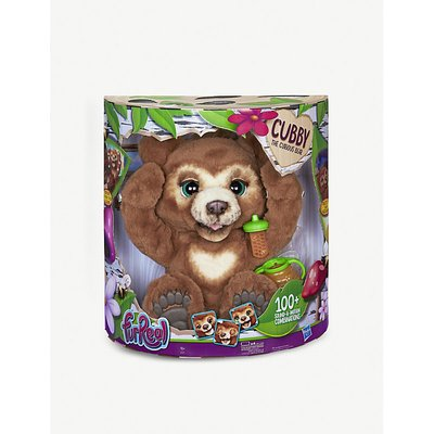 Cubby the Curious Bear interactive plush toy