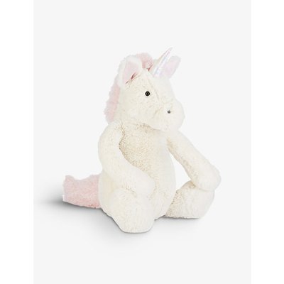 Bashful unicorn large soft toy 31cm