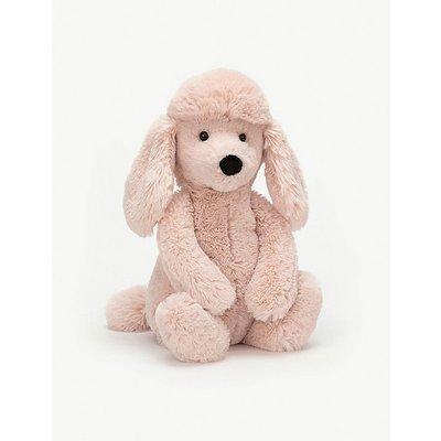 Bashful poodle medium soft toy 31cm