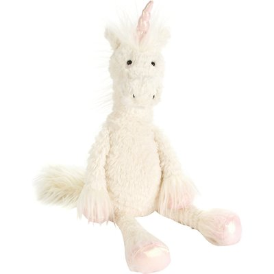 Dainty unicorn soft toy