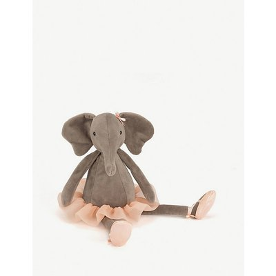 Dancing Darcey elephant medium soft toy 48cm