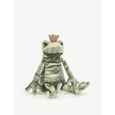 Frog Prince Kiss soft toy