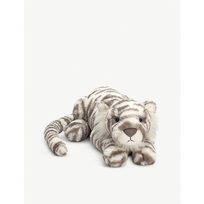 Sacha Snow Tiger soft toy 45cm