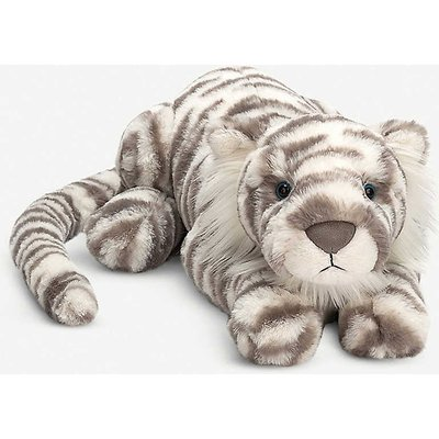 Sacha Snow Tiger soft toy 45cm