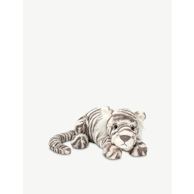 Sacha Snow Tiger soft toy 29cm