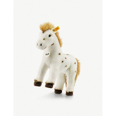 Spotty horse plush toy 30cm