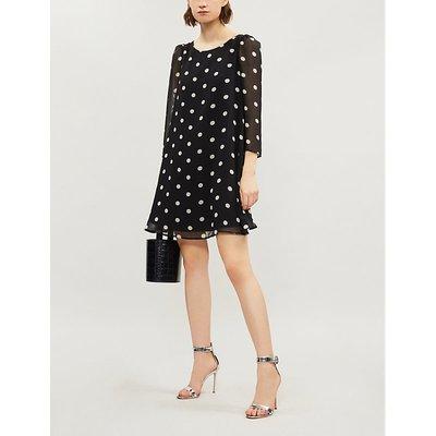 Rififi polka-dot crepe dress
