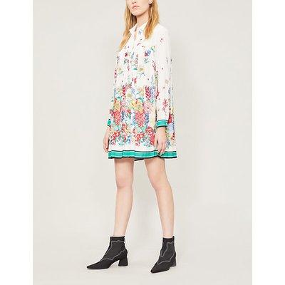 Ramses floral-print crepe dress