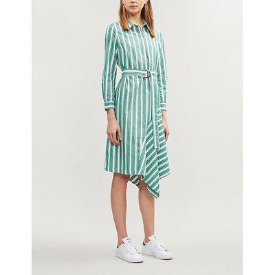 Rickle striped crepe dress