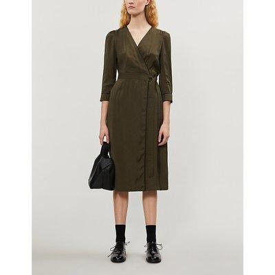 Rusee jacquard midi dress