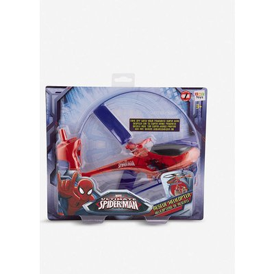 Spiderman rescue helicopter set