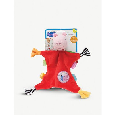 My First Peppa Pig comfort blanket 26cm x 26cm