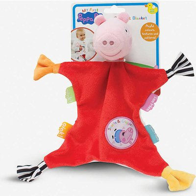 My First Peppa Pig comfort blanket 26cm x 26cm