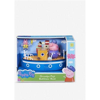 Peppa Pig Kids Blue Grandpa'S Boat Bath Toy
