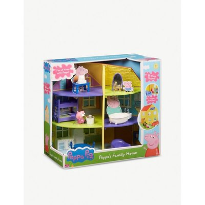 Peppa Pig Kids Peppa'S Family Home Playset