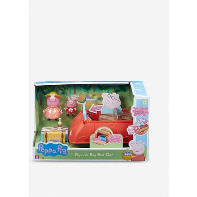 Peppa Pig's Big Red Car
