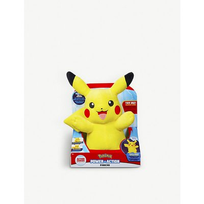 Power Action Pikachu soft toy