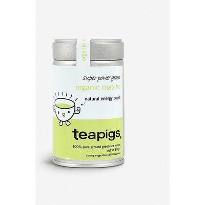 Teapigs Organic Matcha green loose leaf tea 80g, Size: 1 Size