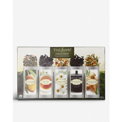 Tea Forte Classic single steep sampler collection 63g, Size: 1 Size