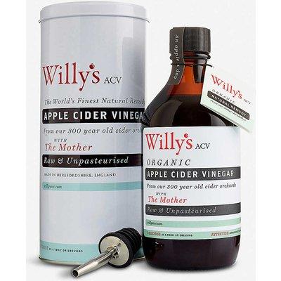 Organic Apple Cider Vinegar 500ml gift pack tin