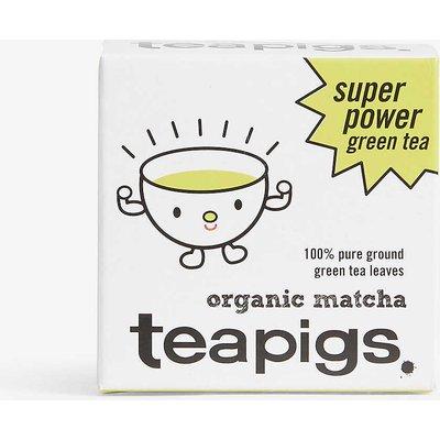 Teapigs Organic Matcha super power green tea powder 30g