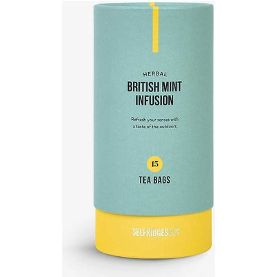 Selfridges Selection British Mint Infusion herbal tea bags 30g, Size: 1 Size