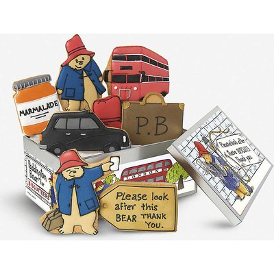 Paddington bear biscuits box of eight