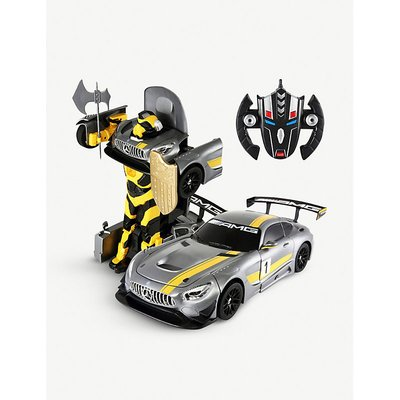 Mercedes Benz GT3 radio-controlled car and robot