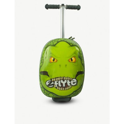 Darwin the dino scooter suitcase