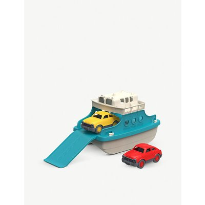 Ferry boat with cars toy set