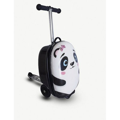 Polly the Panda scooter suitcase