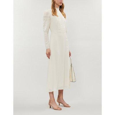 Adelia crepe maxi dress