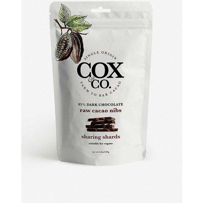Dark chocolate and raw cacao nib sharing shards 120g