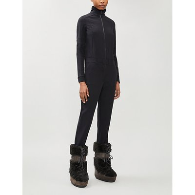 Stowy funnel-neck shell jumpsuit