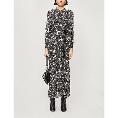 Estine floral-print crepe maxi dress