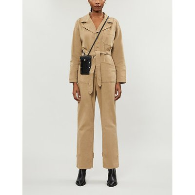 The On Duty stretch-cotton jumpsuit