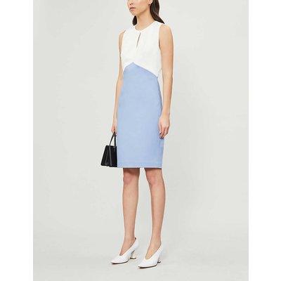 Zamelid fitted sleeveless crepe dress