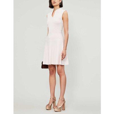 Sharn sleeveless woven midi dress