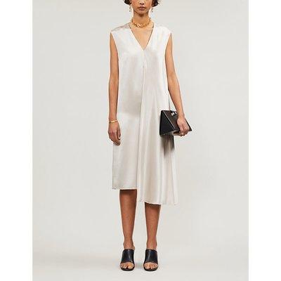Carrol silk shift dress
