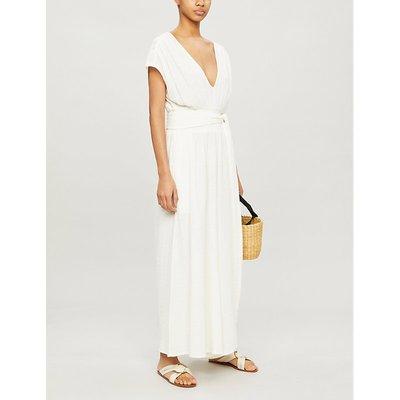 Anneka wide-leg cotton-muslin jumpsuit