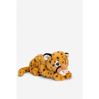 Keel Eco Cheetah recycled-polyester soft toy 45cm