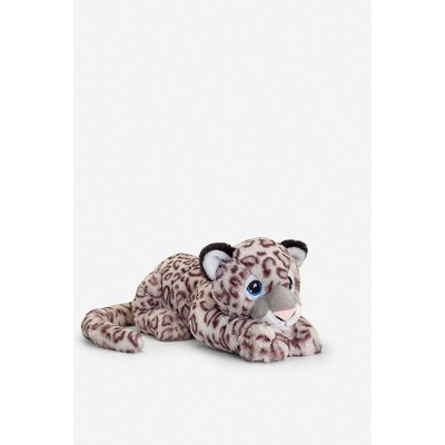 Keel Eco Snow Leopard recycled-polyester soft toy 45cm