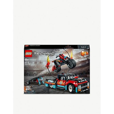 LEGO® Technic™ Stunt Show Truck & Bike set