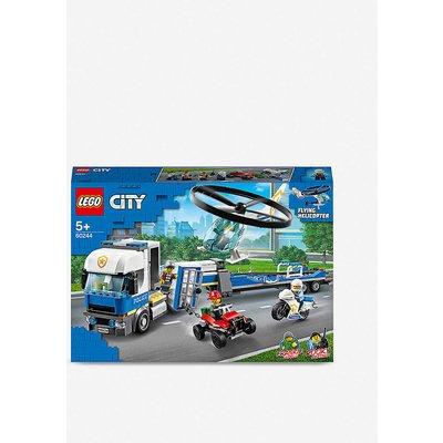 LEGO® City 60244 Police Helicopter Transport set