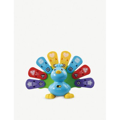 Baby Feathers & Feelings Peacock interactive toy
