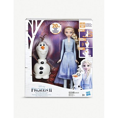 Disney Frozen II Talk and Glow Olaf and Elsa dolls