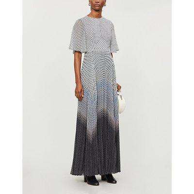 Trishna printed chiffon maxi dress