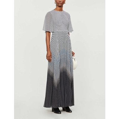 Trishna printed chiffon maxi dress