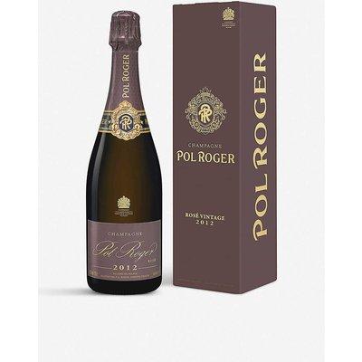 Pol Roger 2012 rosé champagne 750ml